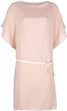 Chloé Tie Waist Dress - Lyst