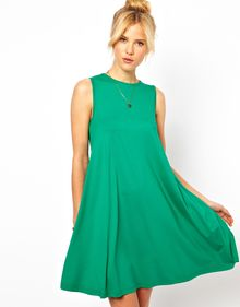 ASOS Collection Asos Sleeveless Swing Dress - Lyst