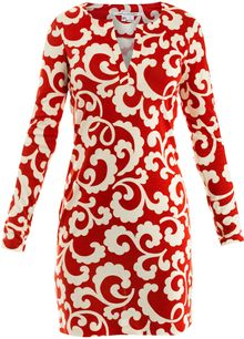 Dvf 1974 Reina Dress - Lyst