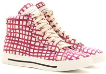 Marc By Marc Jacobs Mylo Print Hightop Sneakers - Lyst