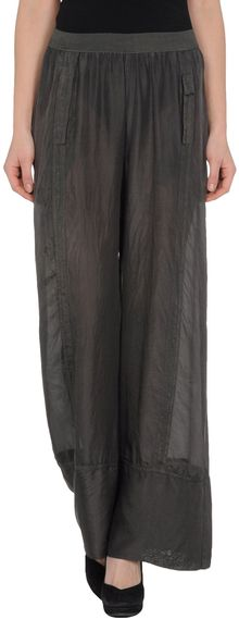 Alysi Casual Trousers - Lyst