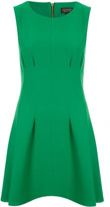 Topshop Seam Waist Shift Dress - Lyst