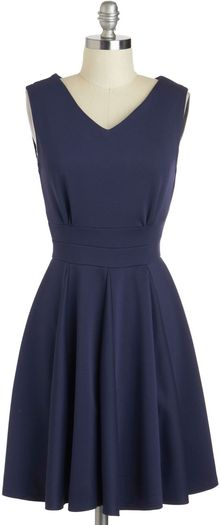 ModCloth Who Could Be Blue Dress - Lyst