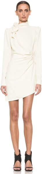 Skaist Taylor Tippi Dress in Cream - Lyst