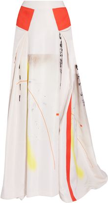Carolina Herrera Print Ball Skirt - Lyst