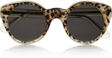 Illesteva Cat Eye Acetate Sunglasses - Lyst