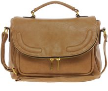 ASOS Collection Satchel Bag with Zip Flap - Lyst