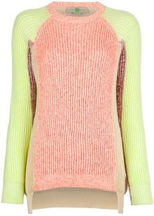 Stella McCartney Colour Block Sweater - Lyst