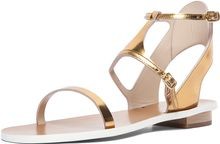 Chloé Runway Sandal in Gold - Lyst
