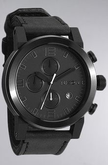 Nixon The Ride Watch in All Black - Lyst