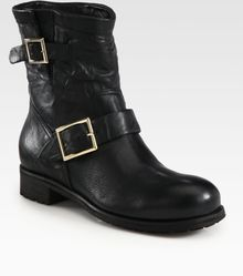 Jimmy Choo Youth Biker Boots - Lyst