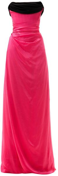 Vivienne Westwood Gold Label Ball Tieback Silk Gown - Lyst