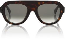Celine Aviator Nevermore Sunglasses - Lyst