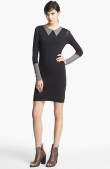 Rag & Bone Carla Contrast Panel Dress - Lyst