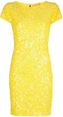 Alice + Olivia Taryn Dress - Lyst
