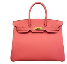 Hermes 35cm Rose Lipstick Togo Birkin with Gold - Lyst
