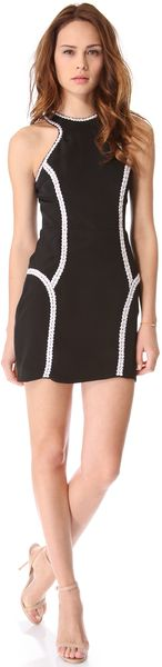 Parker Bruna Mini Dress - Lyst