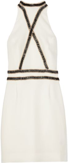 Sass & Bide The Fair Maiden Embellished Crepe Dress - Lyst