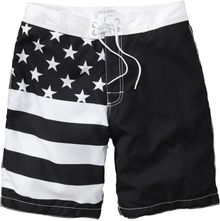 Old Navy Stars Striped Board Shorts - Lyst