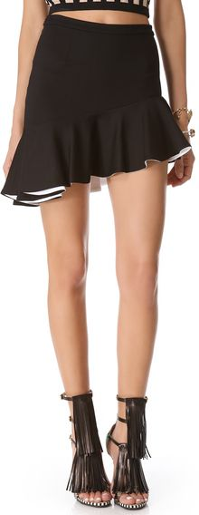 Torn By Ronny Kobo Riva Skirt - Lyst