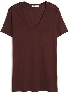 T By Alexander Wang Classic Pocket Tee - Lyst