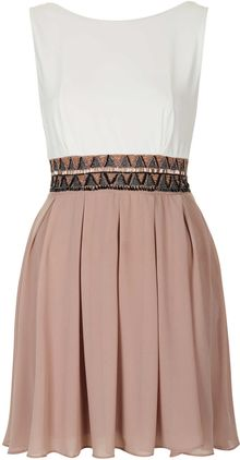 Topshop Dacey Dress By Tfnc - Lyst