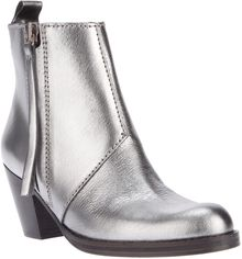 Acne Pistol Short Ankle Boot - Lyst