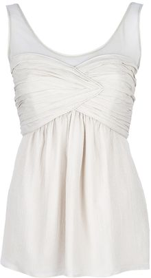 Burberry Sleeveless Top - Lyst