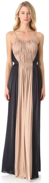 Rochas Sleeveless Gown - Lyst