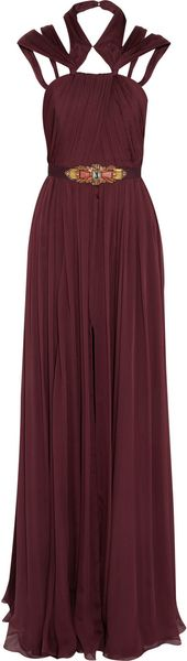 Matthew Williamson Silkchiffon Gown - Lyst