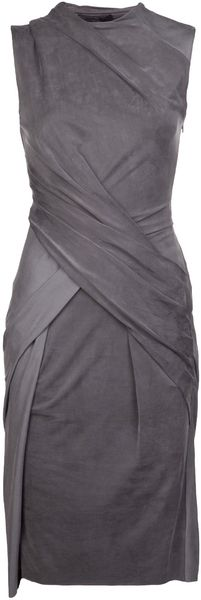 Alexander Wang Crew Twist Dress - Lyst
