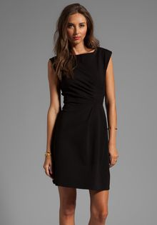 Marc By Marc Jacobs Sophia Ponte Dress in Black - Lyst