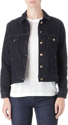 Topshop Western Denim Jacket - Lyst