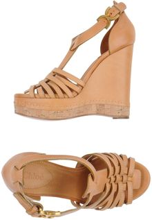 Chloé Wedge - Lyst