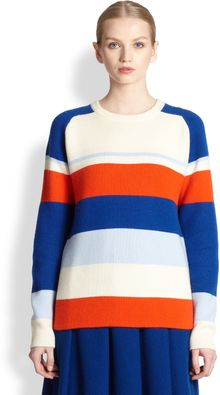 J.W. Anderson Striped Cashmere Sweater - Lyst