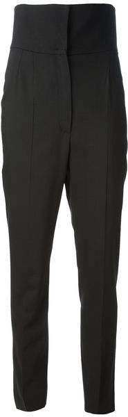 Dolce & Gabbana Tapered High Waisted Trouser - Lyst