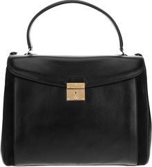 Marc Jacobs Calf Leather Tote Bag - Lyst