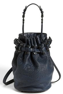 Alexander Wang Diego Leather Bucket Bag - Lyst