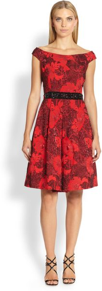 Teri Jon  Dress - Lyst