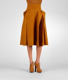Bottega Veneta Kari Flannel Skirt - Lyst