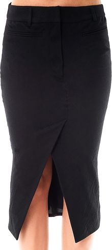 Haider Ackermann Woollinen Pencil Skirt - Lyst
