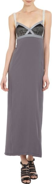 VPL Insertion Maxi Dress - Lyst