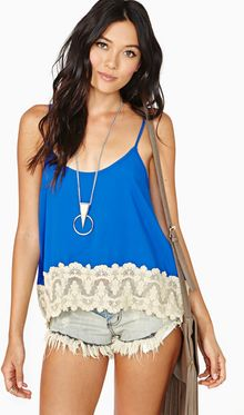Nasty Gal Dream Believer Tank - Lyst