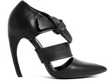 Proenza Schouler Leather and Latex High Heel Shoes - Lyst