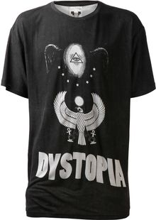 Horace Oversized Graphic Tshirt - Lyst
