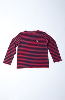 Saint James Meridian Ii Breton Stripe Tee - Lyst