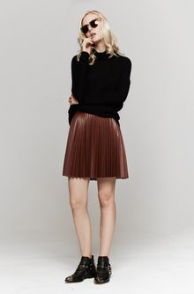 Lover Divinyl Mini Skirt - Lyst