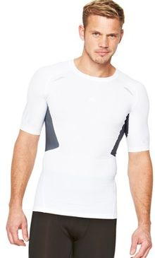 Adidas Adidas Short Sleeve Mens Techfit Top - Lyst