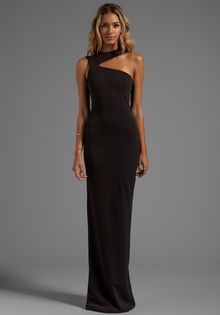 AQ/AQ Gosling Maxi Dress in Black - Lyst