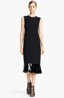 Jason Wu Fringe Cut Sequin Sheath Dress - Lyst